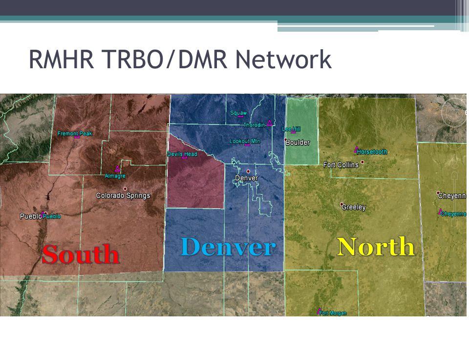 RMHR TRBO/DMR Network Denver North South