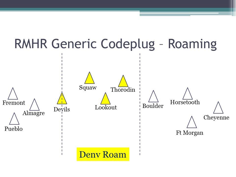 RMHR Generic Codeplug – Roaming