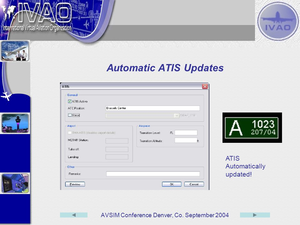 Automatic ATIS Updates