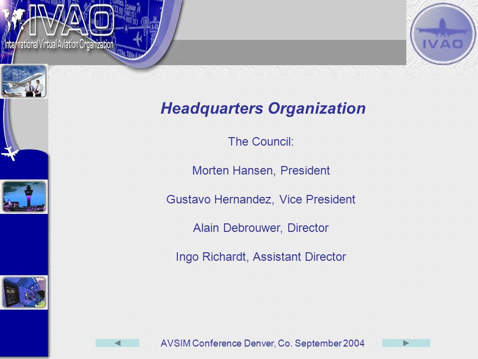 Headquarters Organization