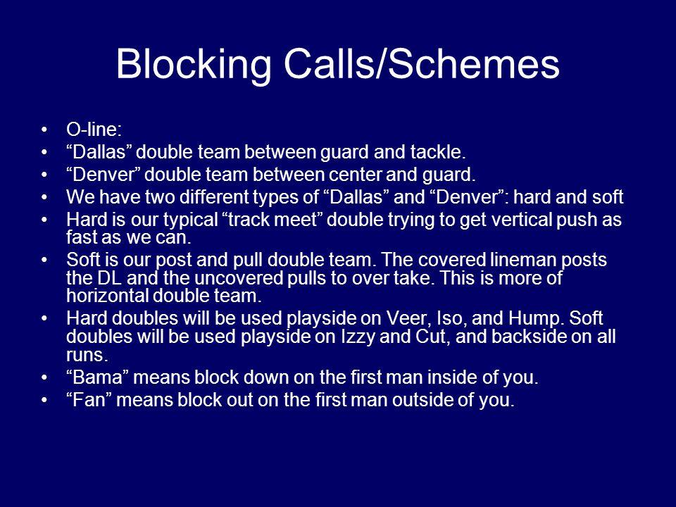 Blocking Calls/Schemes