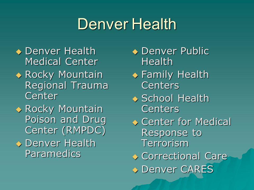 Denver Health Denver Health Medical Center