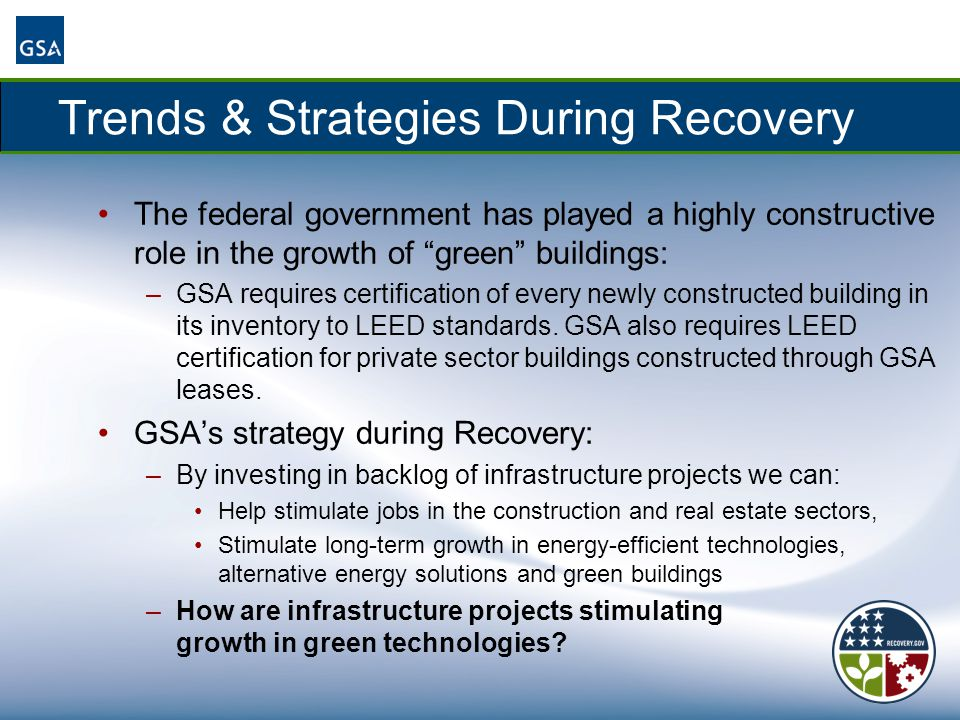 Trends & Strategies During Recovery