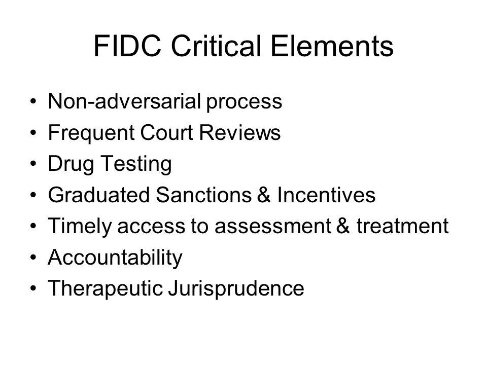 FIDC Critical Elements