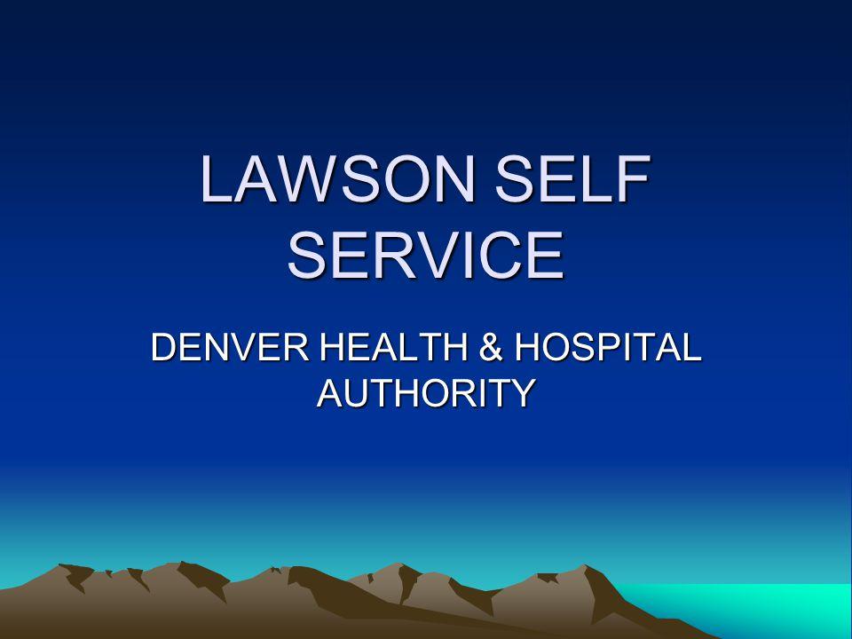 DENVER HEALTH & HOSPITAL AUTHORITY