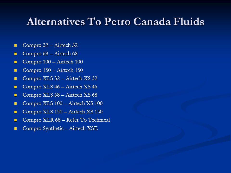 Alternatives To Petro Canada Fluids