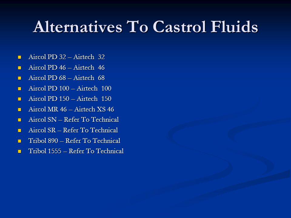 Alternatives To Castrol Fluids