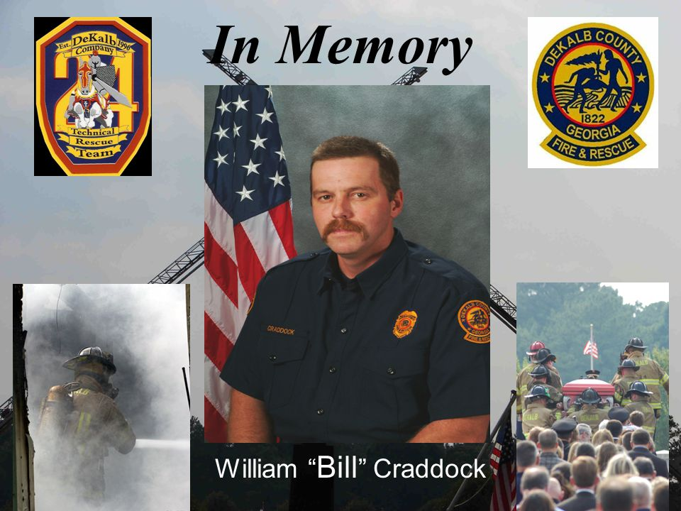 In Memory William Bill Craddock