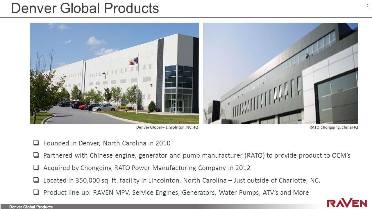 Denver Global Products