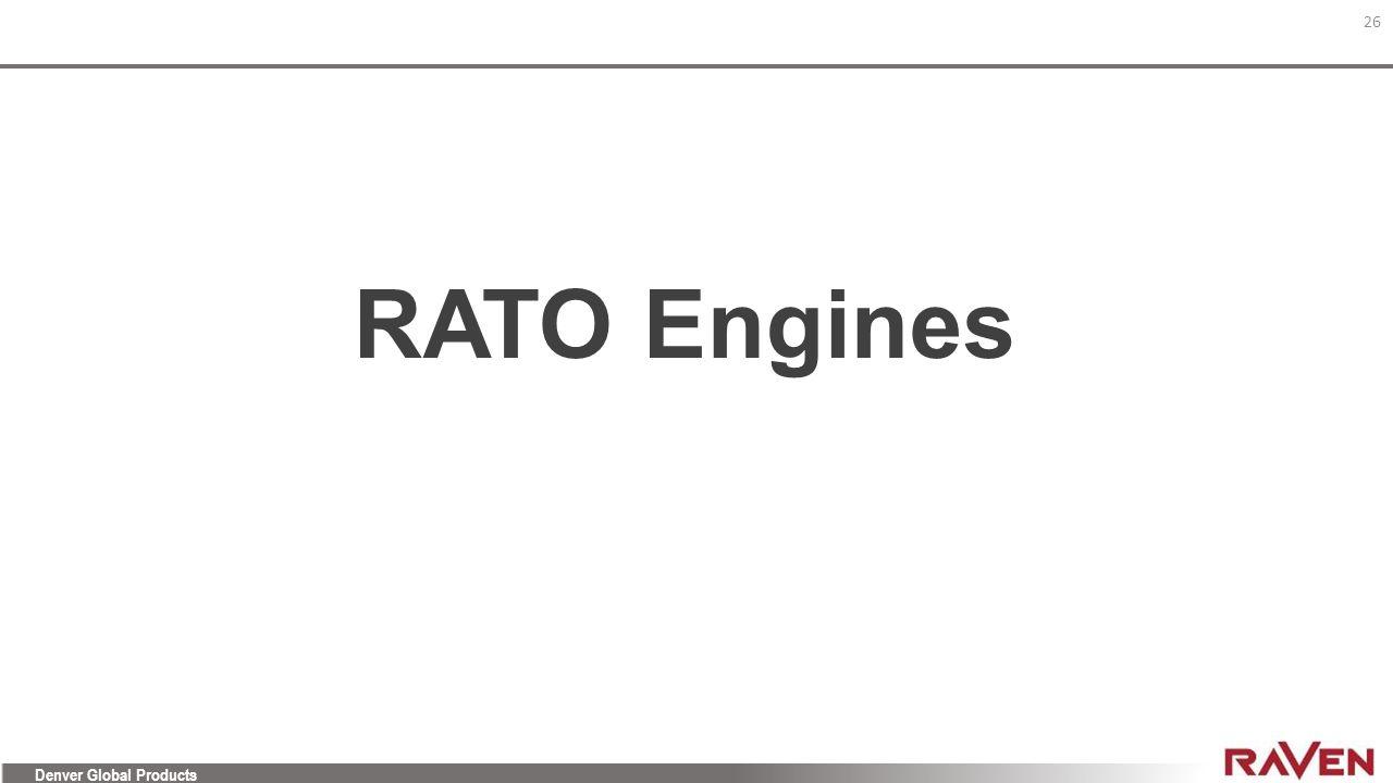RATO Engines