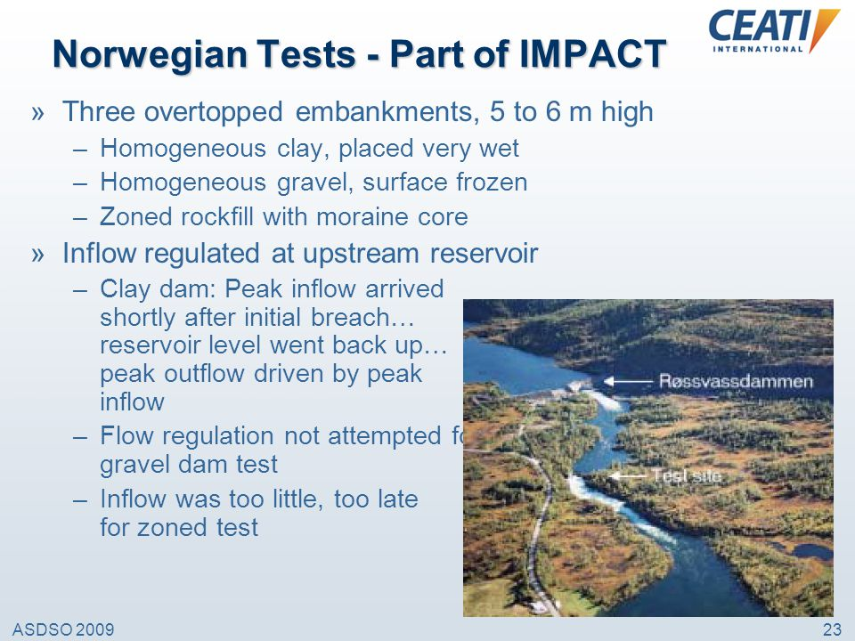 Norwegian Tests - Part of IMPACT