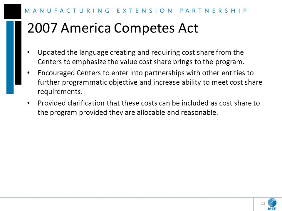 2007 America Competes Act