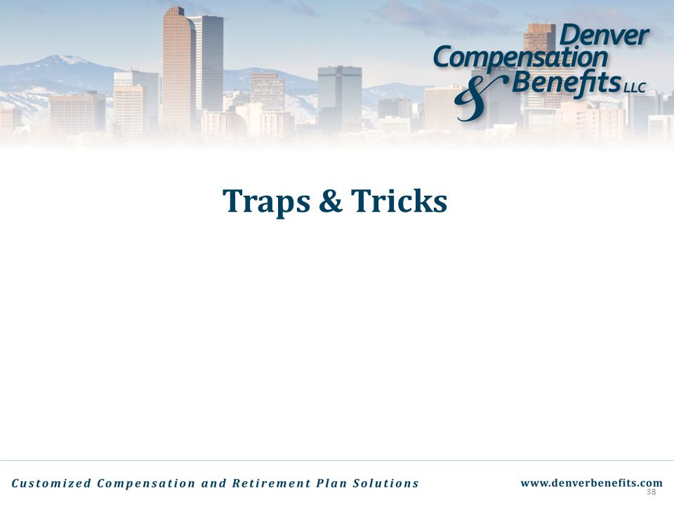 Traps & Tricks