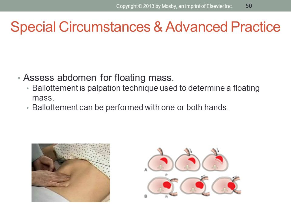 Special Circumstances & Advanced Practice