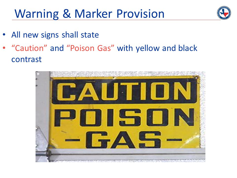 Warning & Marker Provision