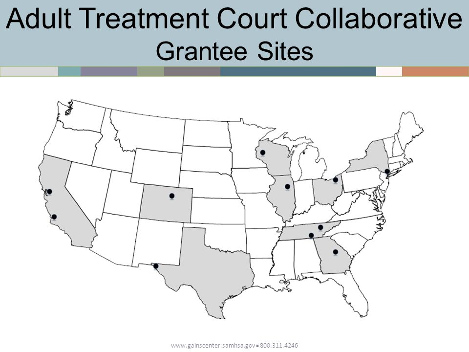 Adult Treatment Court Collaborative Grantee Sites
