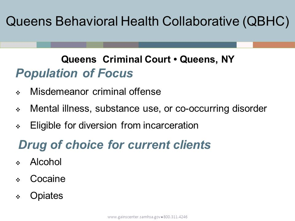 Queens Behavioral Health Collaborative (QBHC)