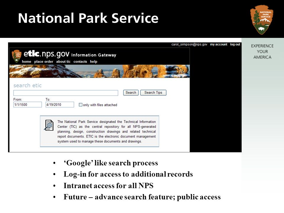 'Google' like search process