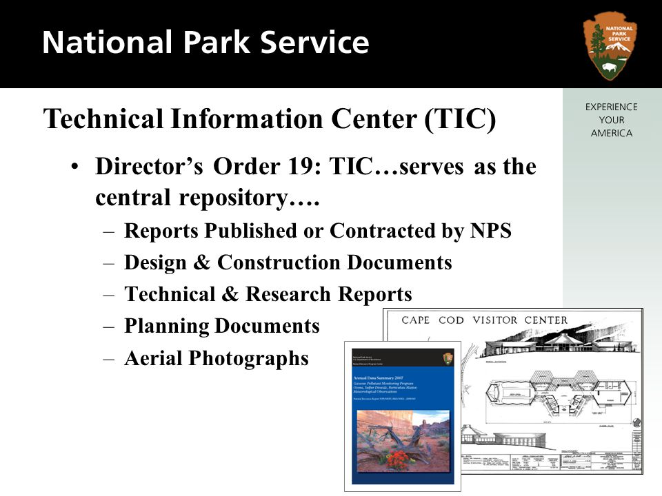 Technical Information Center (TIC)