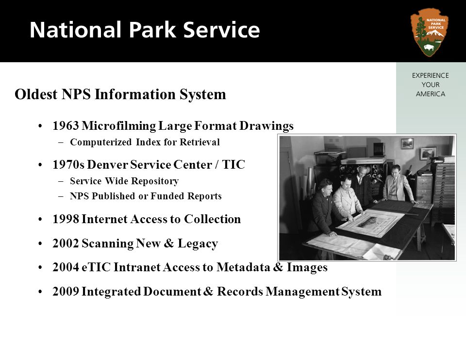 Oldest NPS Information System