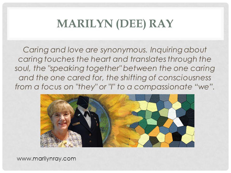 Marilyn (Dee) Ray