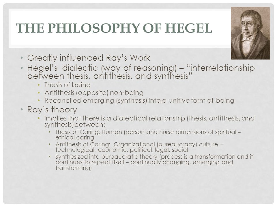 The Philosophy of Hegel