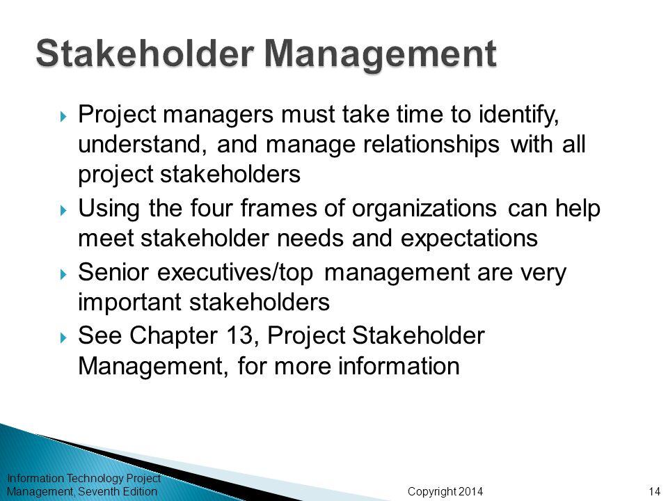 Stakeholder Management