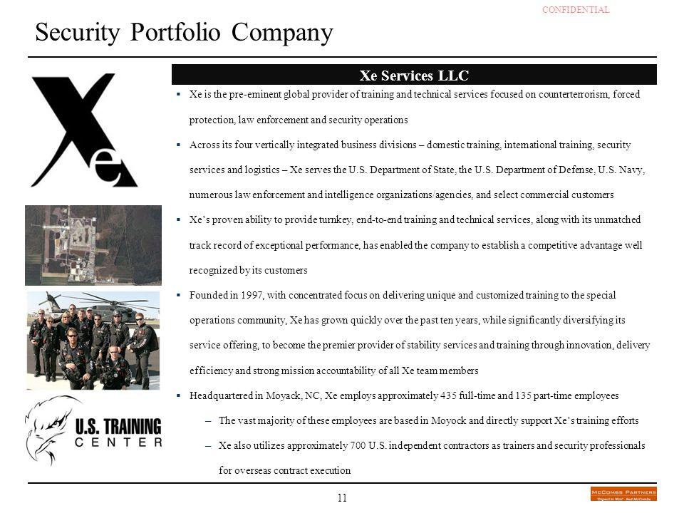 Security Portfolio Company