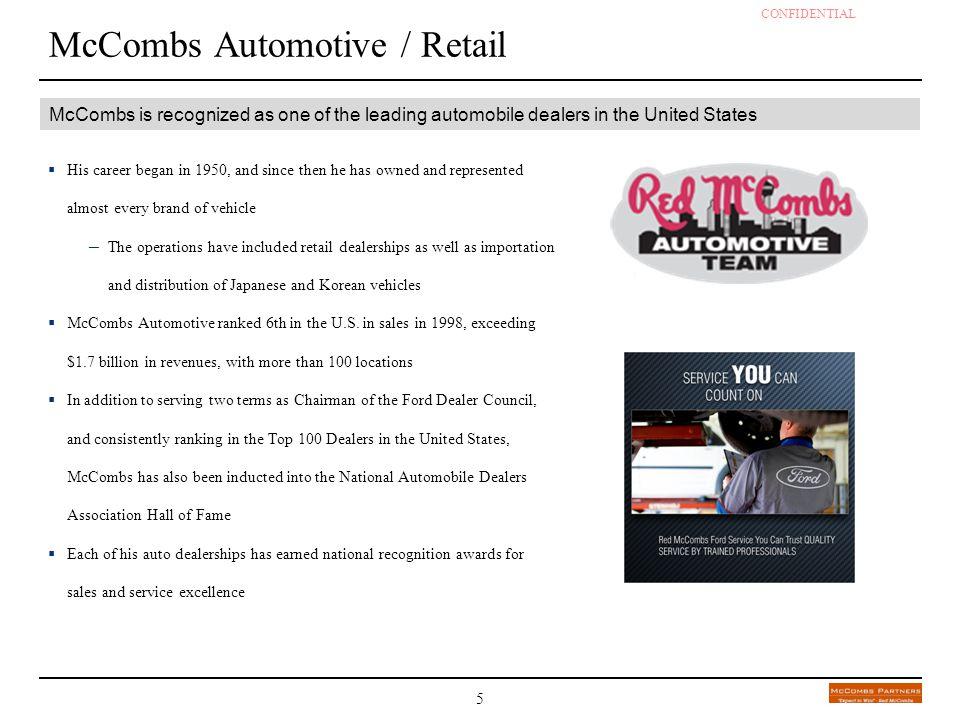 McCombs Automotive / Retail