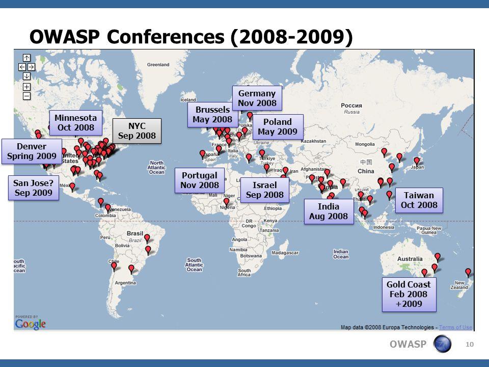 OWASP Conferences (2008-2009) Australia – Justin Derry