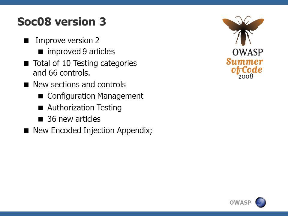 Soc08 version 3 Improve version 2 improved 9 articles