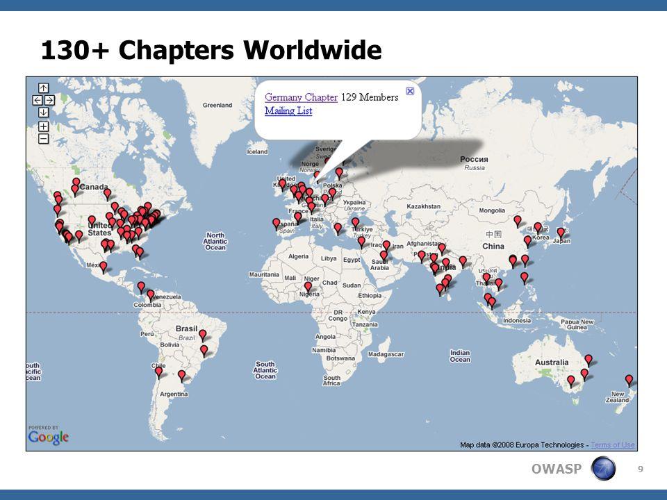 130+ Chapters Worldwide