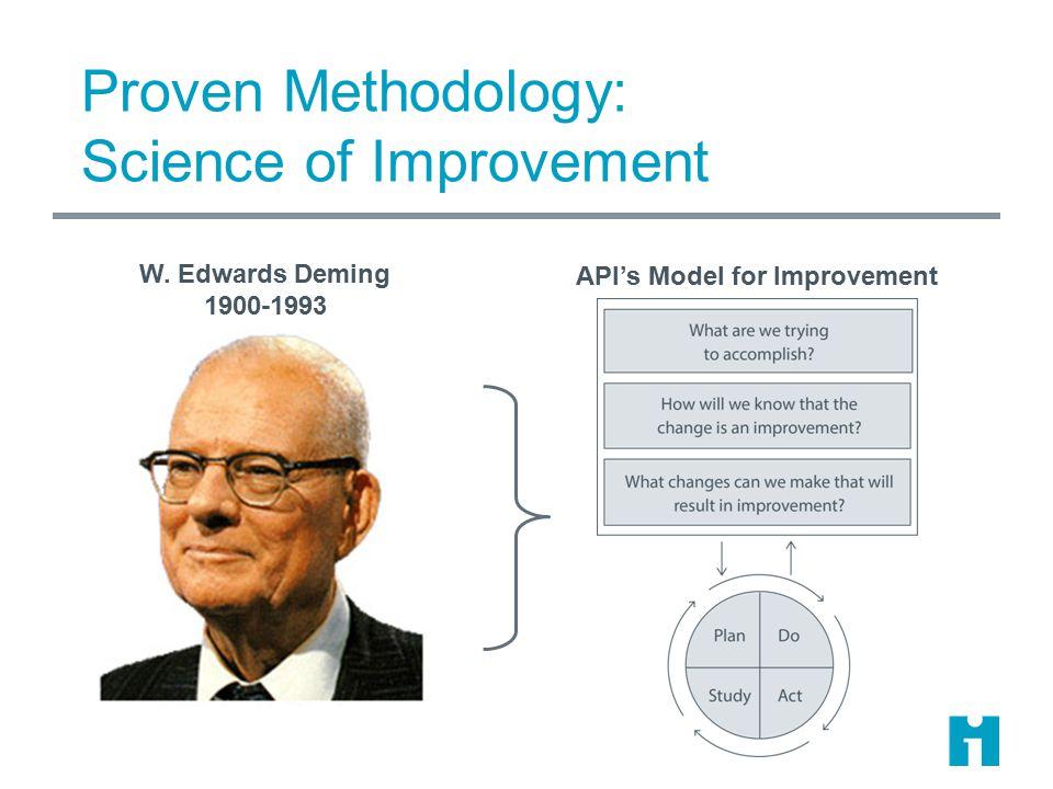 Proven Methodology: Science of Improvement