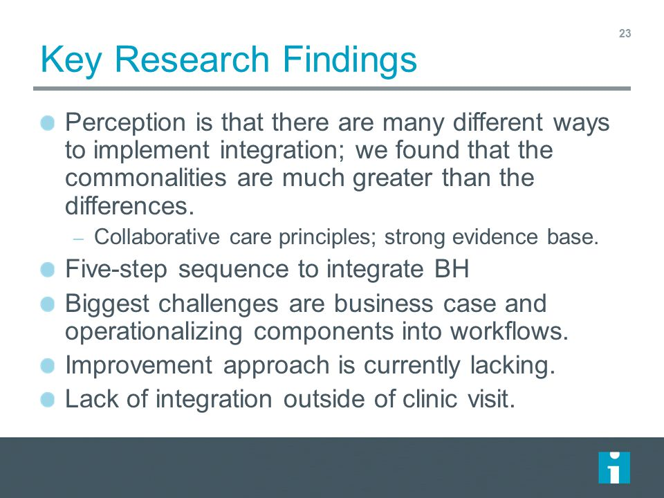 Key Research Findings