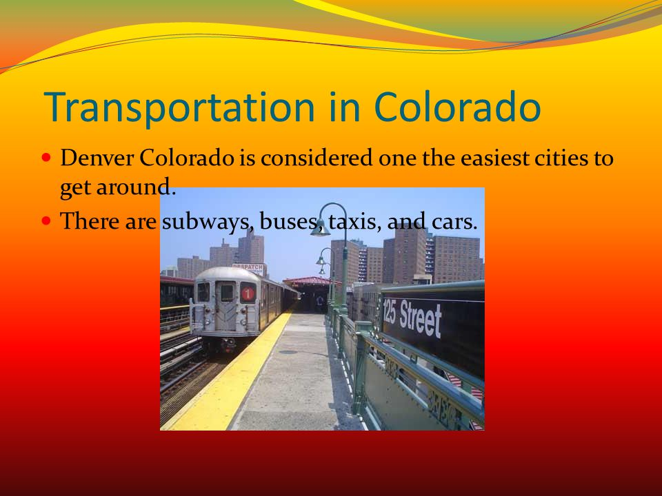 Transportation in Colorado