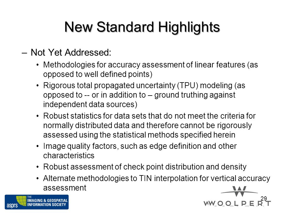 New Standard Highlights