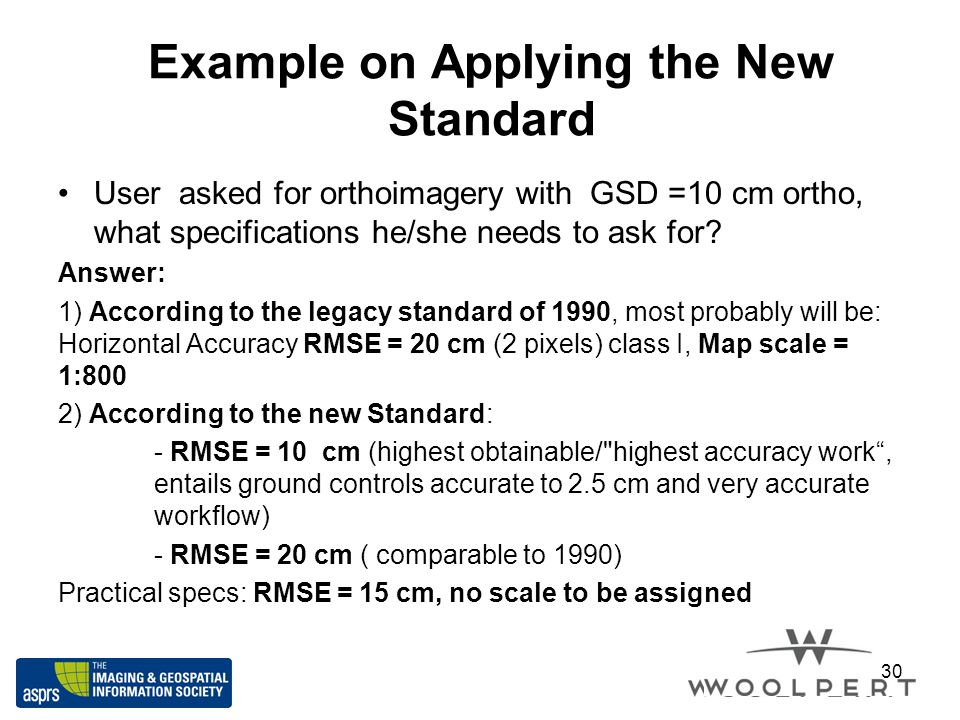 Example on Applying the New Standard