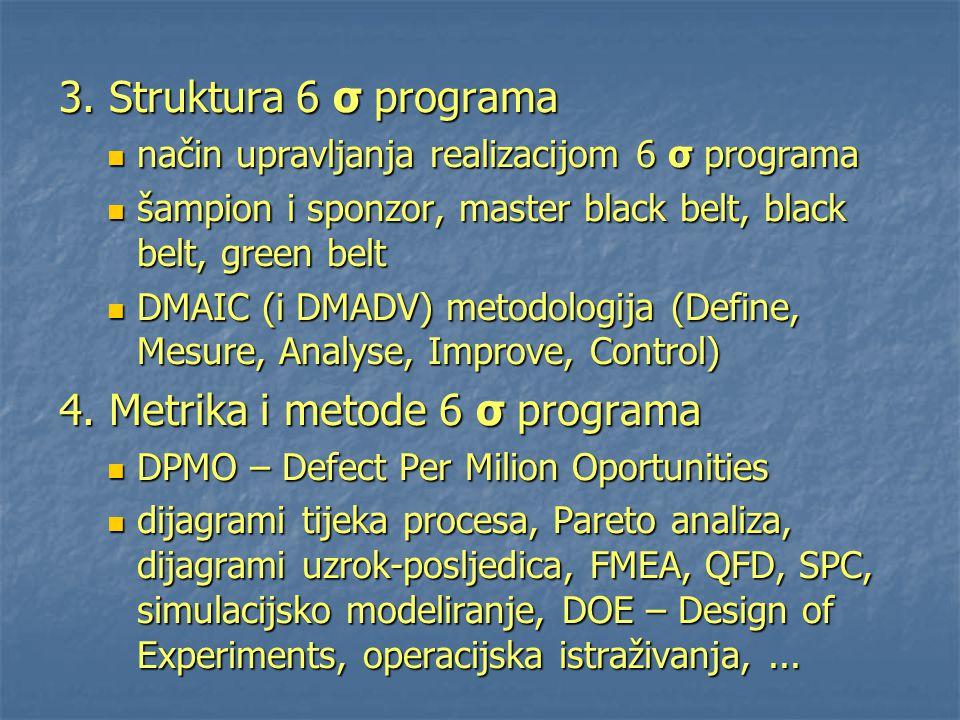 4. Metrika i metode 6 σ programa