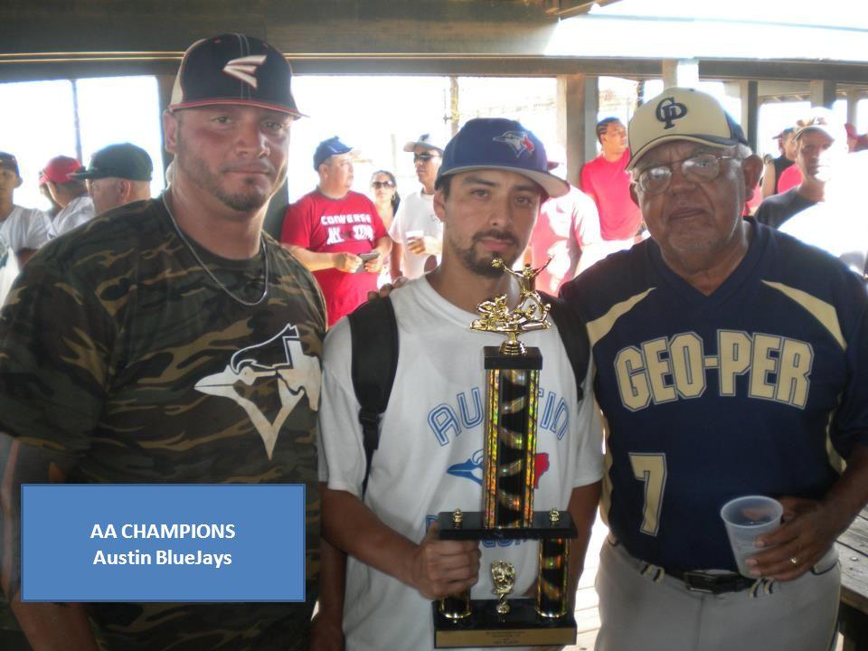 AA CHAMPIONS Austin BlueJays