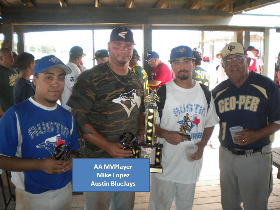 AA MVPlayer Mike Lopez Austin BlueJays