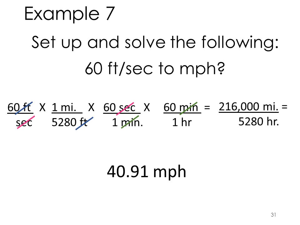 Set up and solve the following: