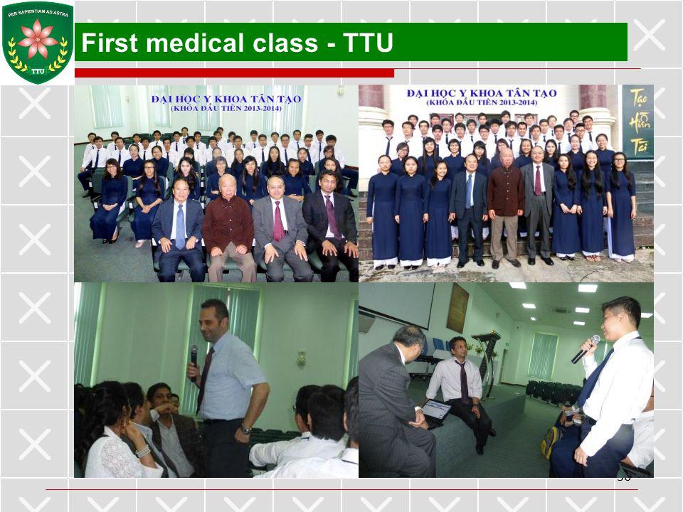 First medical class - TTU