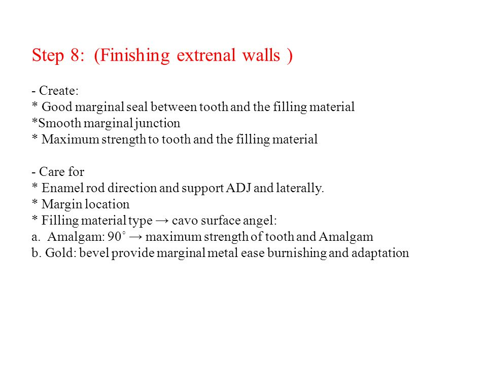 Step 8: (Finishing extrenal walls ) - Create: