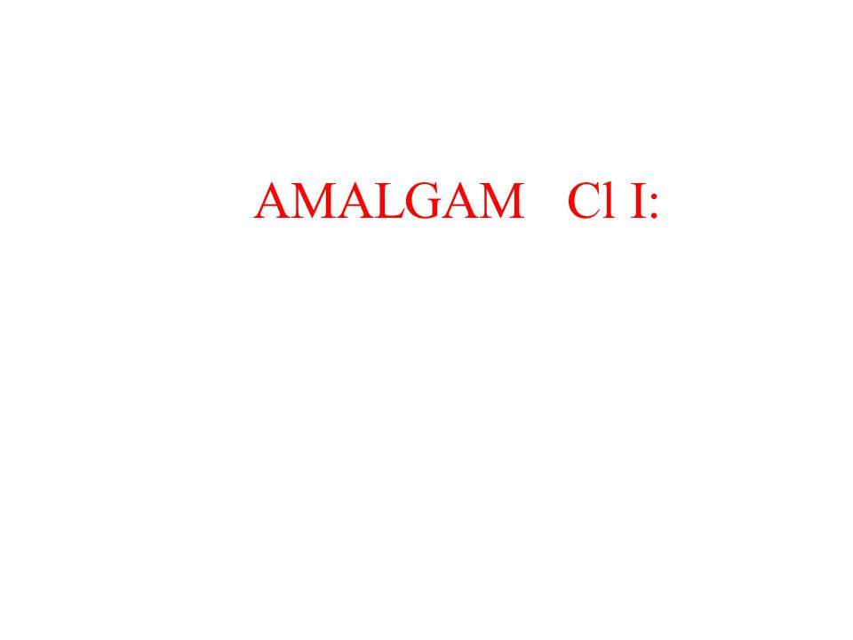 AMALGAM Cl Ι: