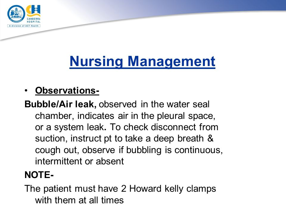 Nursing Management Observations-