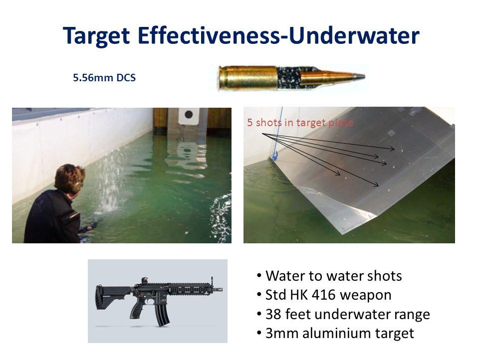 Target Effectiveness-Underwater