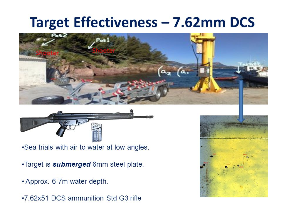 Target Effectiveness – 7.62mm DCS
