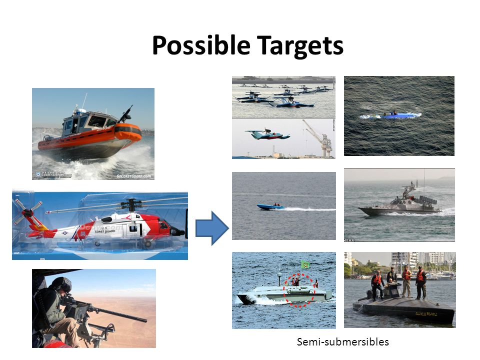 Possible Targets Semi-submersibles