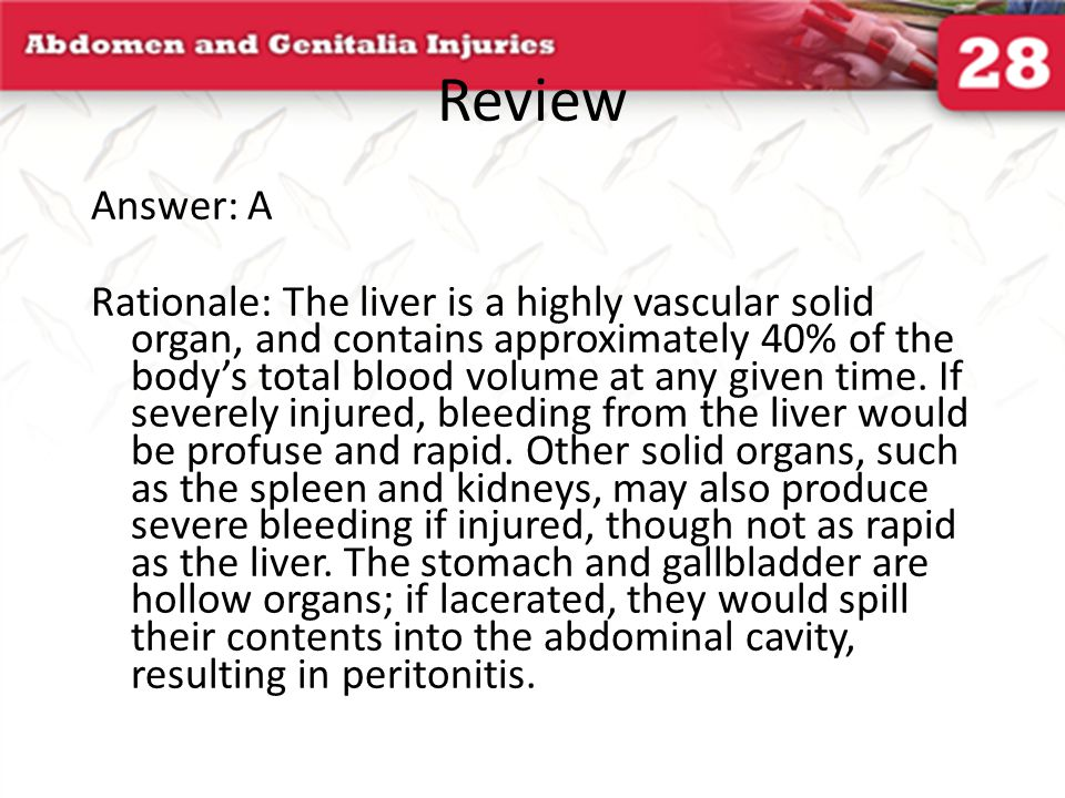 Review Answer: A.