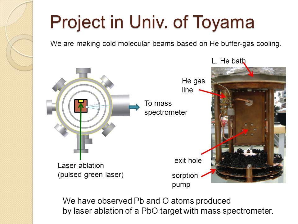 Project in Univ. of Toyama